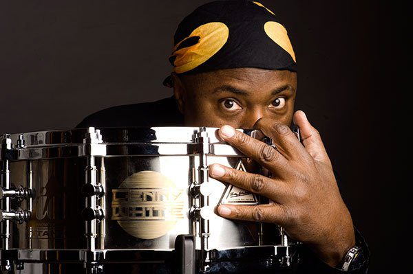 Lenny White with snare drum